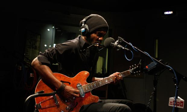 Gary Clark Jr. performs in the Soundcheck studio.