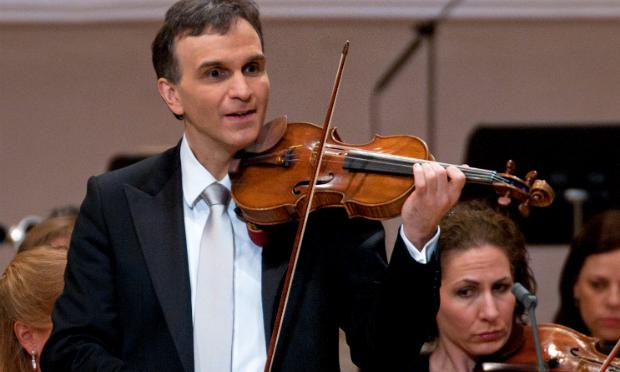 Gil Shaham performs at a 2011 Carnegie Hall 120th anniversary event