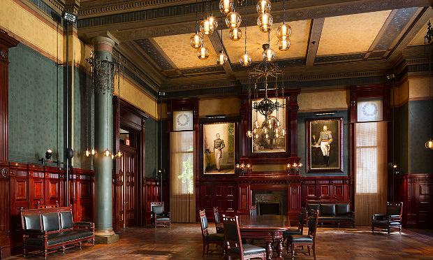 The Board of Officers Room at the Park Avenue Armory