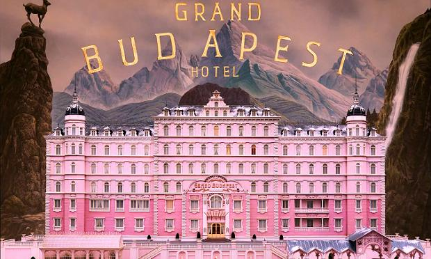 Poster for ''The Grand Budapest Hotel'