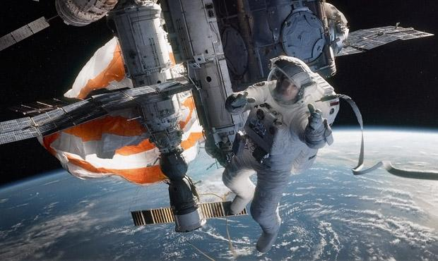 Sandra Bullock as Ryan Stone in Warner Bros. Pictures' dramatic thriller 'Gravity,' a Warner Bros. Pictures release.