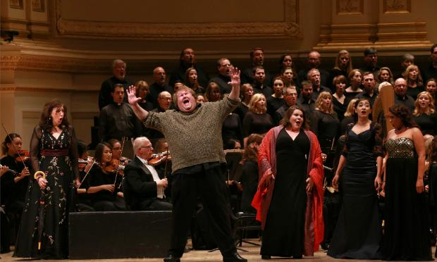 St. Louis Symphony's 'Peter Grimes' at Carnegie Hall with tenor Anthony Dean Griffey in the title role