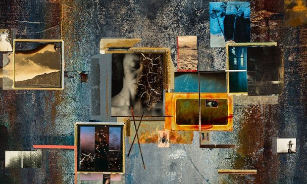The vinyl of Nine Inch Nails' 'Hesitation Marks.'