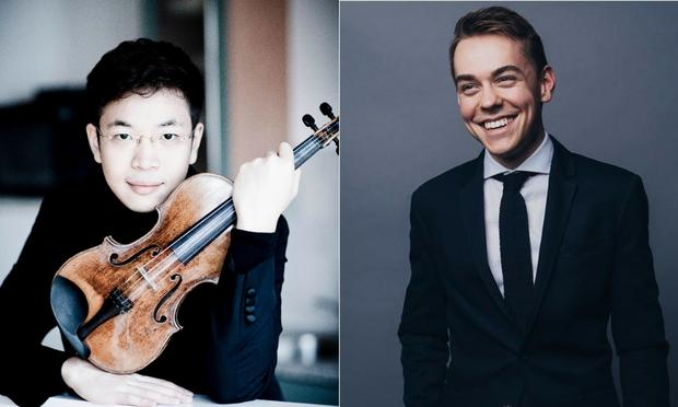 Paul Huang and Matthew Lipman are featured on the Young Artists Showcase.