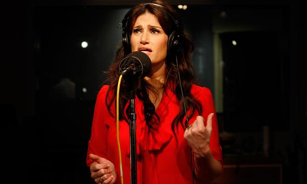 Idina Menzel performs selections from 'If/Then' in the Soundcheck studio.
