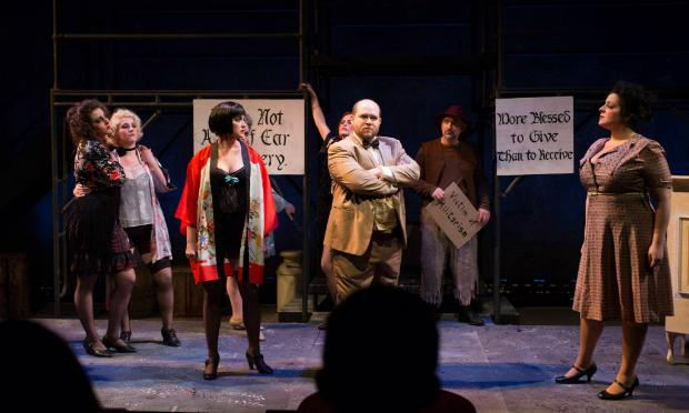 Indianapolis Opera production of 'The Threepenny Opera'