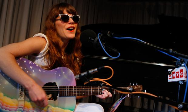 Jenny Lewis performs in the Soundcheck studio.