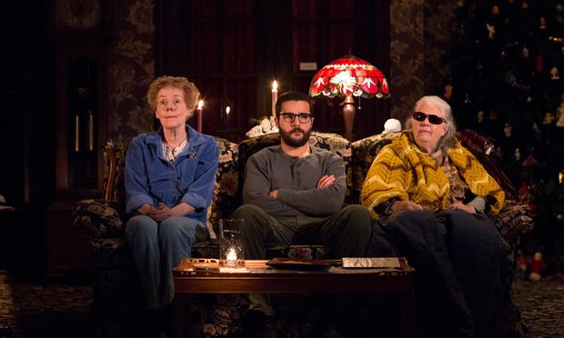Georgia Engel, Christopher Abbott and Lois Smith in Annie Baker's play 'John.'