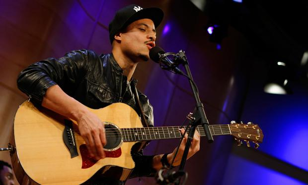 Jose James performs in the Greene Space at WNYC.