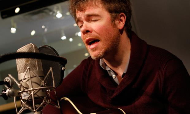 <b>Josh Ritter</b> performs in the Soundcheck studio. - joshritter2_wide