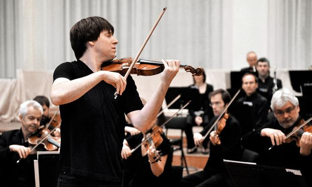 Violinist Joshua Bell conducts the Academy of St. Martin in the Fields.