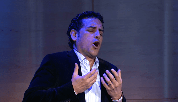 Juan Diego Florez in The Greene Space on May 4, 2014