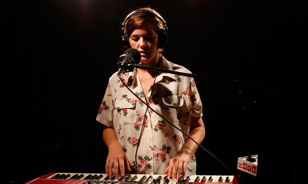 Julianna Barwick performs in the Soundcheck studio.