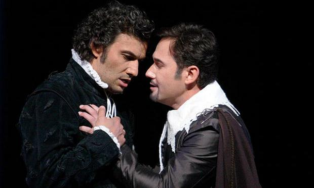 Jonas Kaufmann and Mariusz Kwiecien in Verdi's 'Don Carlo'