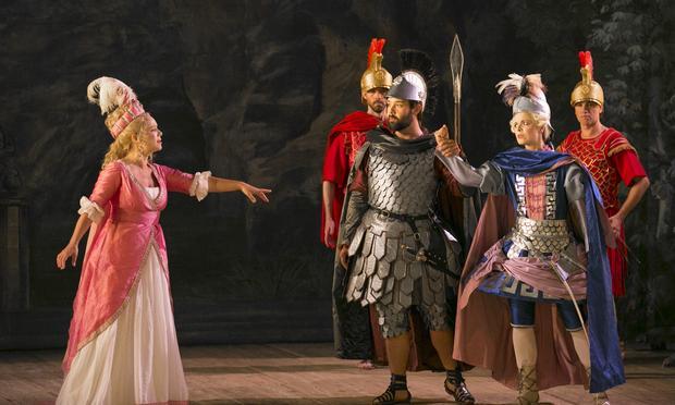 Mozart's 'La Clemenza di Tito' from the 2013 Drottningholm Opera Festival in Stockholm.