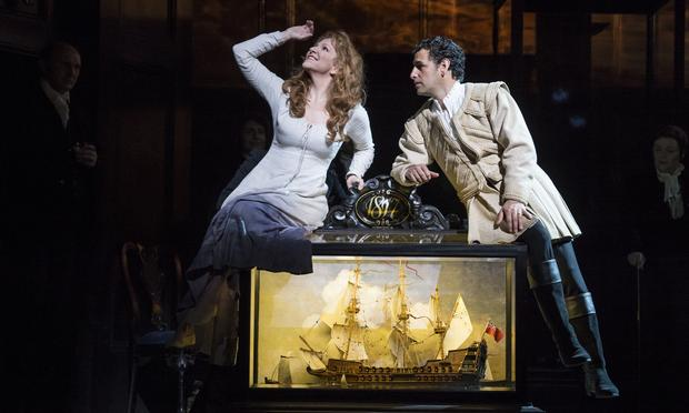 Joyce DiDonato as Elena and Juan Diego Flórez as Uberto in Rossini's 'The Lady of the Lake' from Covent Garden.