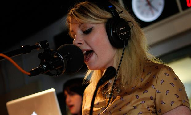 Little Boots performs in the Soundcheck studio.