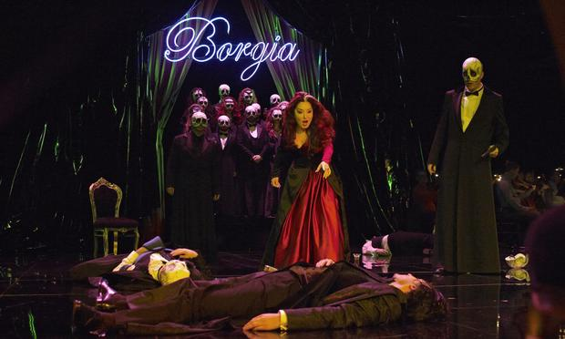 Donizetti's 'Lucrezia Borgia' from the Royal Theatre of the Mint in Brussels.