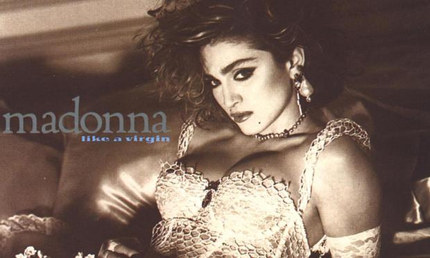 Cover for Madonna's 'Like A Virgin.'