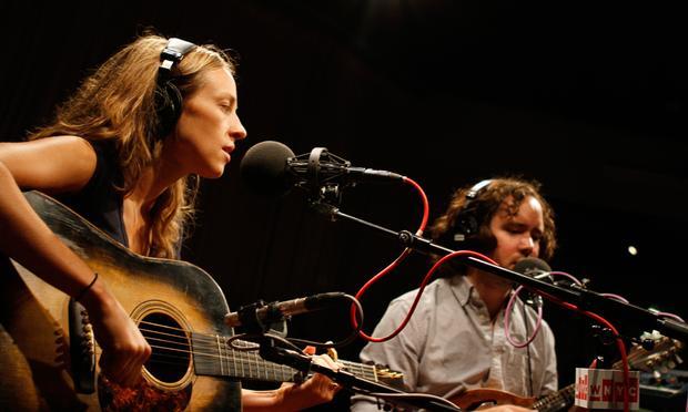 Mandolin Orange performs in the Soundcheck studio.