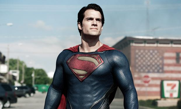 Henry Cavill portrays Superman in the most recent Zack Snyder-directed film 'Man Of Steel.'