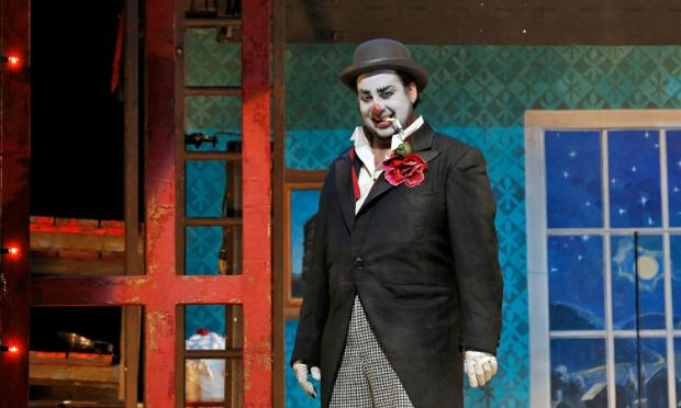 Marcelo Alvarez as Canio in Leoncavallo's 'Pagliacci.'