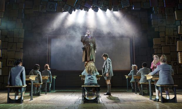 The Broadway cast of 'Matilda The Musical.'