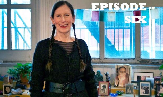 Meredith Monk in her Tribeca home and studio