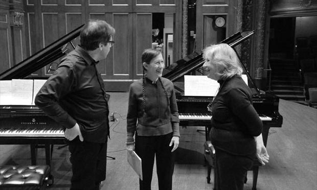 Bruce Brubaker, Meredith Monk and Ursula Oppens