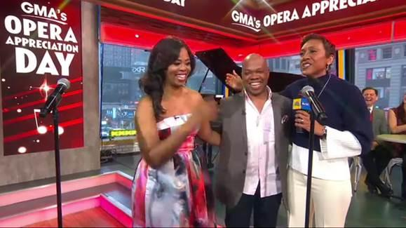 Aspiring singer Eldric Bashful is joined by the Metropolitan Opera's Pretty Yende for a life changing surprise performance.
