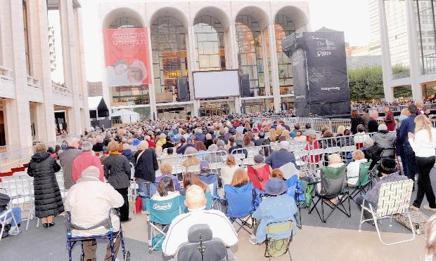 Metropolitan Opera Season Opening Production Of 'Eugene Onegin' on Sept. 23, 2013