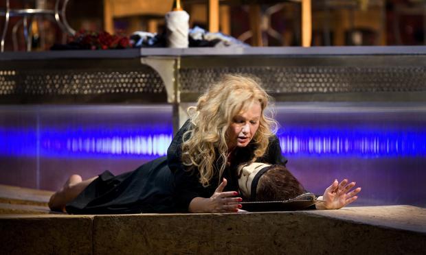 Karita Mattila in the title role of Strauss's 'Salome.'
