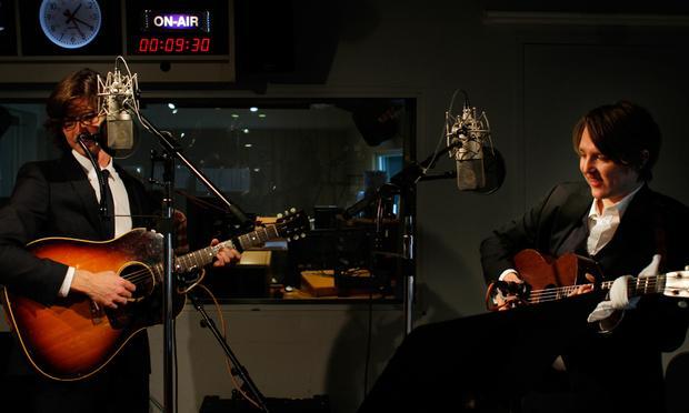 The Milk Carton Kids performs live in the Soundcheck studio.