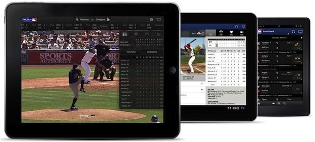 Much like music subscription services like Spotify, MLB's At Bat app allows fans to subscribe watch as many baseball games from their mobile devices as they want.