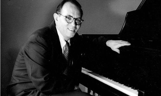 Composer Jerome Moross in the early 1960s