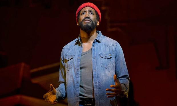 Bryan Terrell Clark plays Marvin Gaye in 'Motown: The Musical'