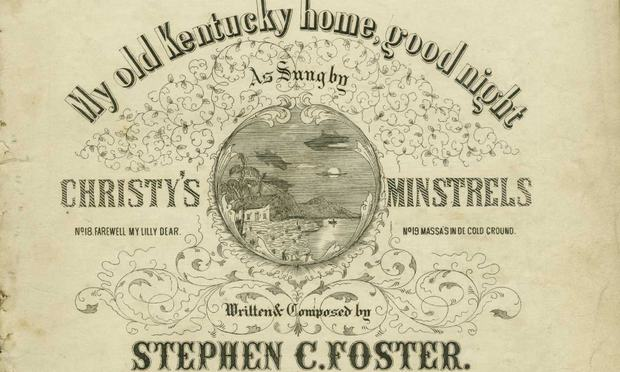 My Old Kentucky Home, from Foster's Plantation Melodies