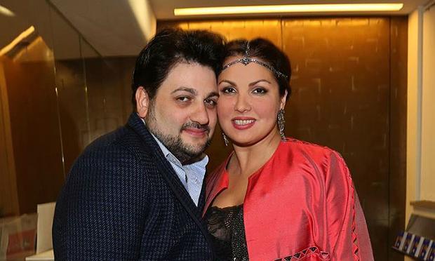 Soprano Anna Netrebko and tenor Yusif Eyvazov