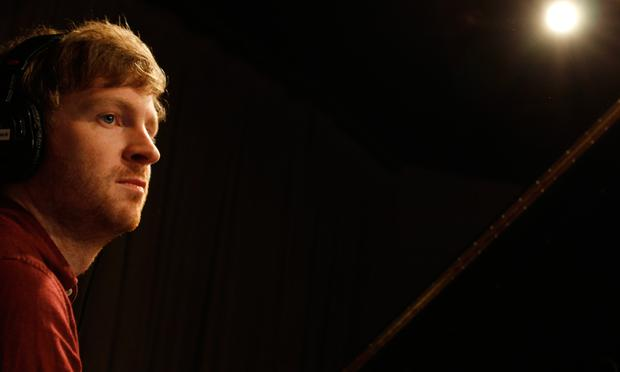 Olafur Arnalds performs in the Soundcheck studio.