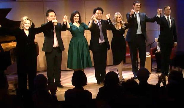 The Winners of the Met National Council Auditions in The Greene Space