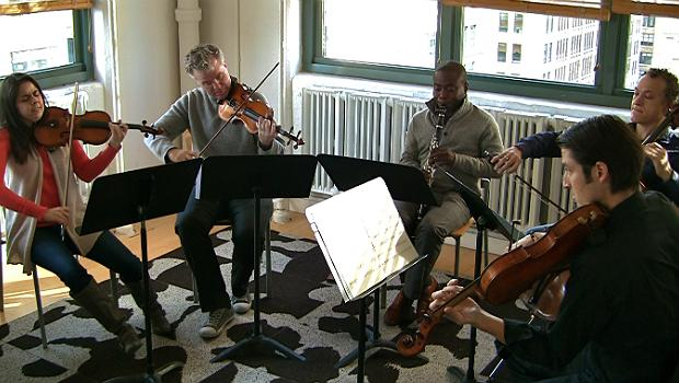 Pacifica Quartet with Anthony McGill at WQXR