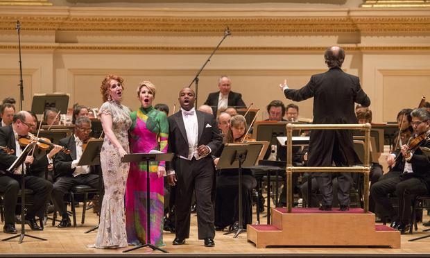The Philadelphia Orchestra with conductor Maurizio Benini, soprano Laura Claycomb, mezzo-soprano Joyce DiDonato and tenor Lawrence Brownlee