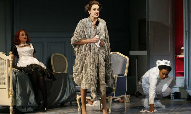 Allison Cook in 'Powder Her Face' at New York City Opera