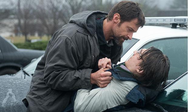 Hugh Jackman (left) and Paul Dano in 'Prisoners'