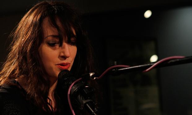 Rachel Zeffira performs in the Soundcheck studio.