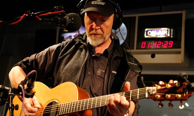 Richard Thompson performs in the Soundcheck studio.