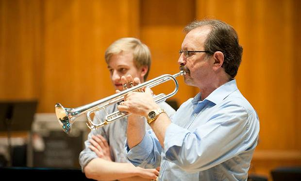 Rod Franks, the late principal trumpet of the London Symphony