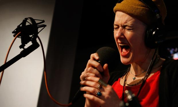Rubblebucket performs in the Soundcheck studio.