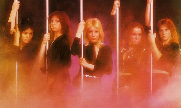 Cover to The Runaways' album 'Queens Of Noise.'