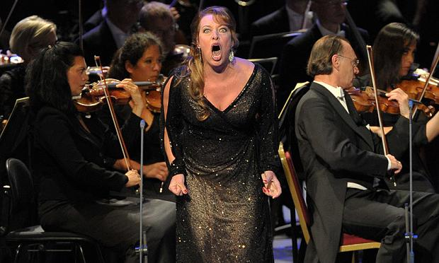 Nina Stemme as Salome at the BBC Proms